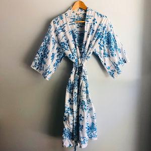 Other - Japanese Kimono Cotton Robe
